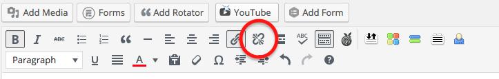 WordPress Link Icon