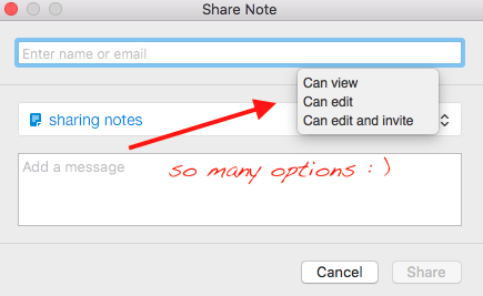 EVERNOTE-Sharing-Options