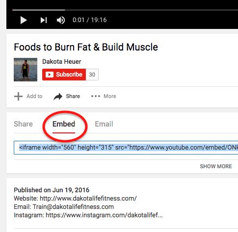 Embed-YouTube