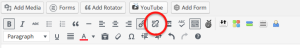 WordPress Link Icon