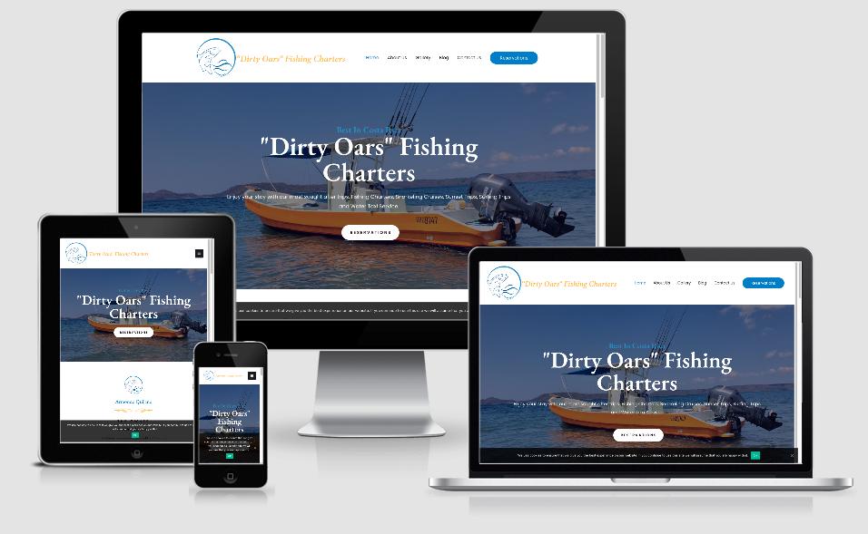 Dirty Oars fishing charter